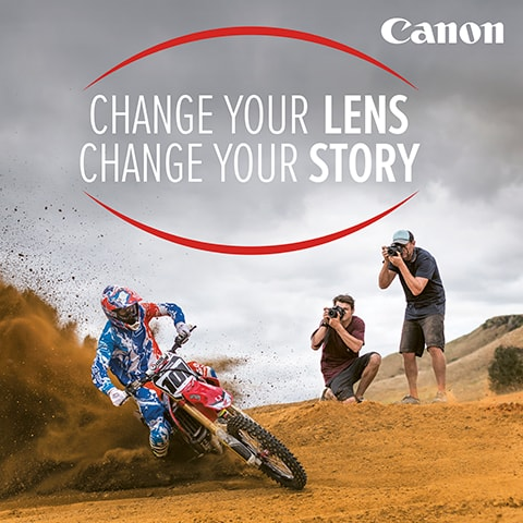 Change your lens